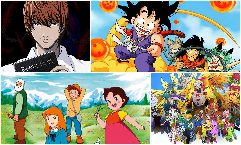 EXTRA: Series de animación japonesas