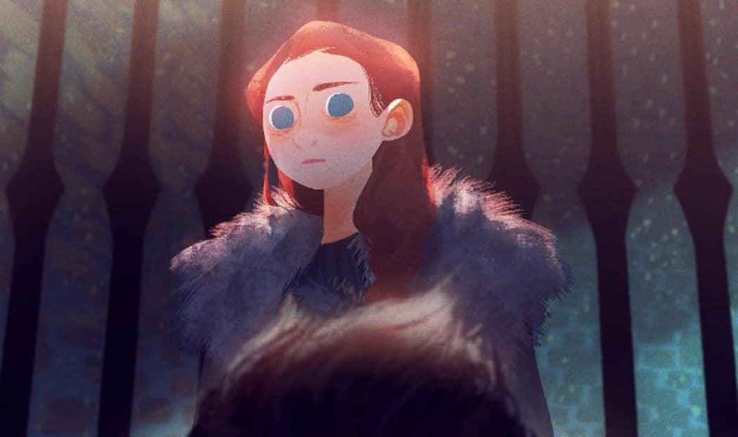 La hierática Sansa Stark