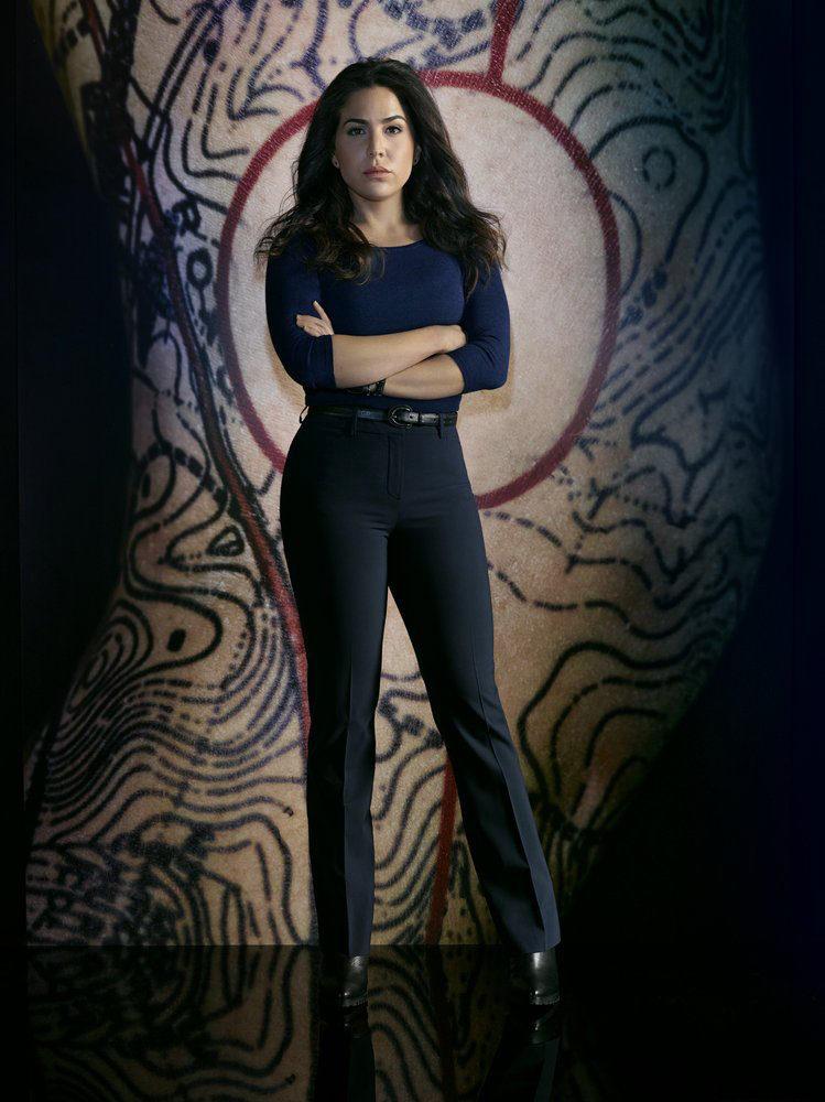 Audrey Esparza como Zapata en 'Blindspot'