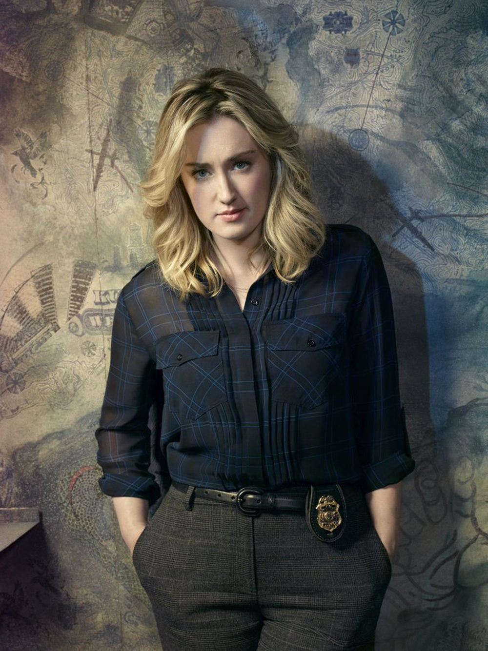 Ashley Johnson como Patterson en 'Blindspot'
