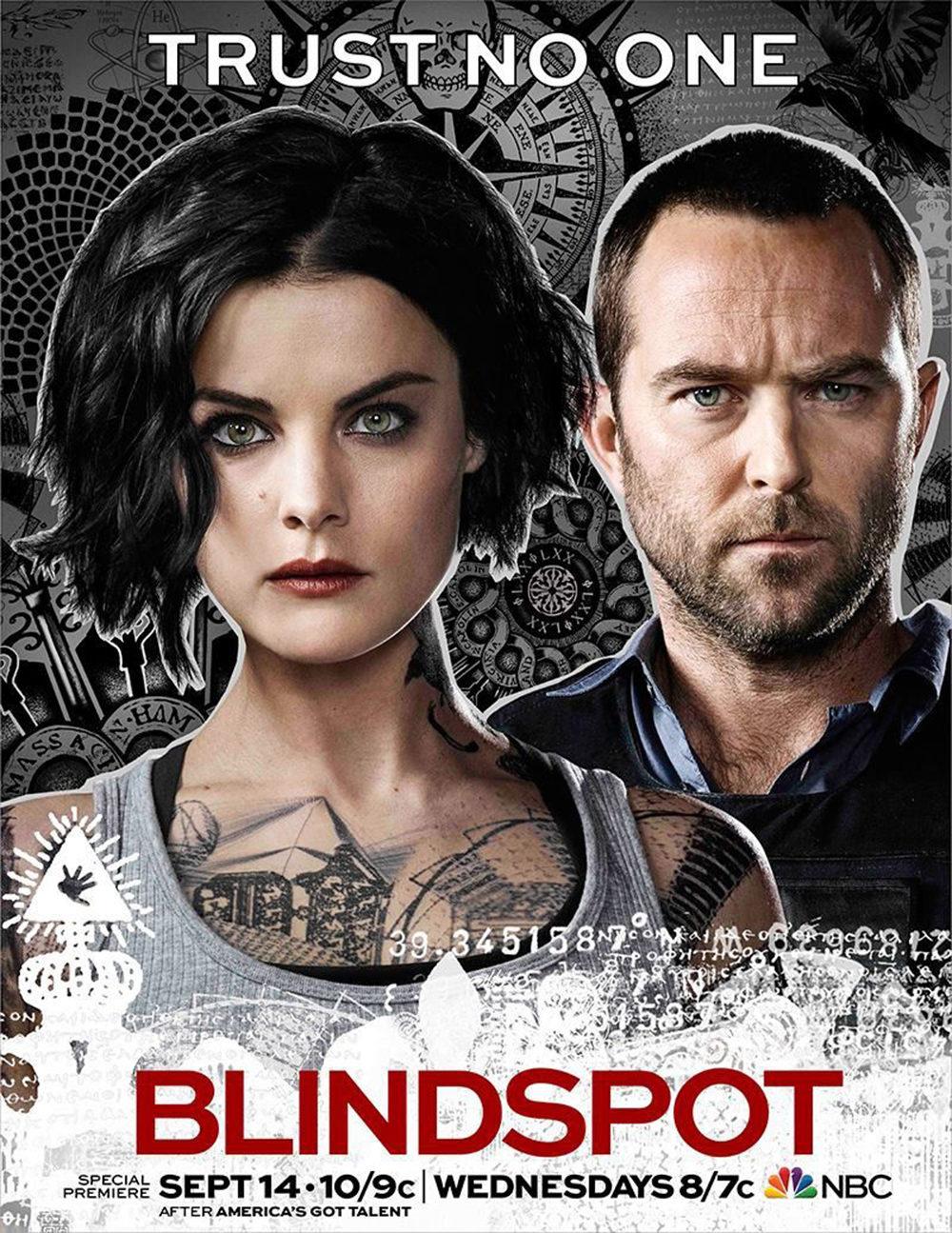 Cartel de la segunda temporada de 'Blindspot'