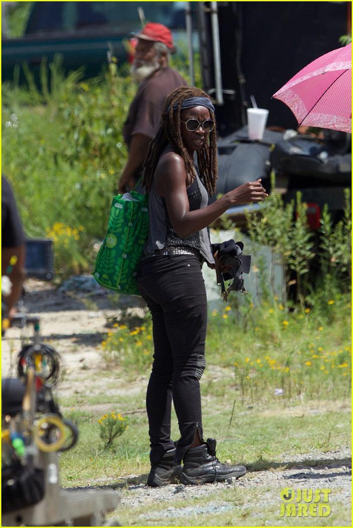 Michonne en la séptima temporada de 'The Walking Dead'