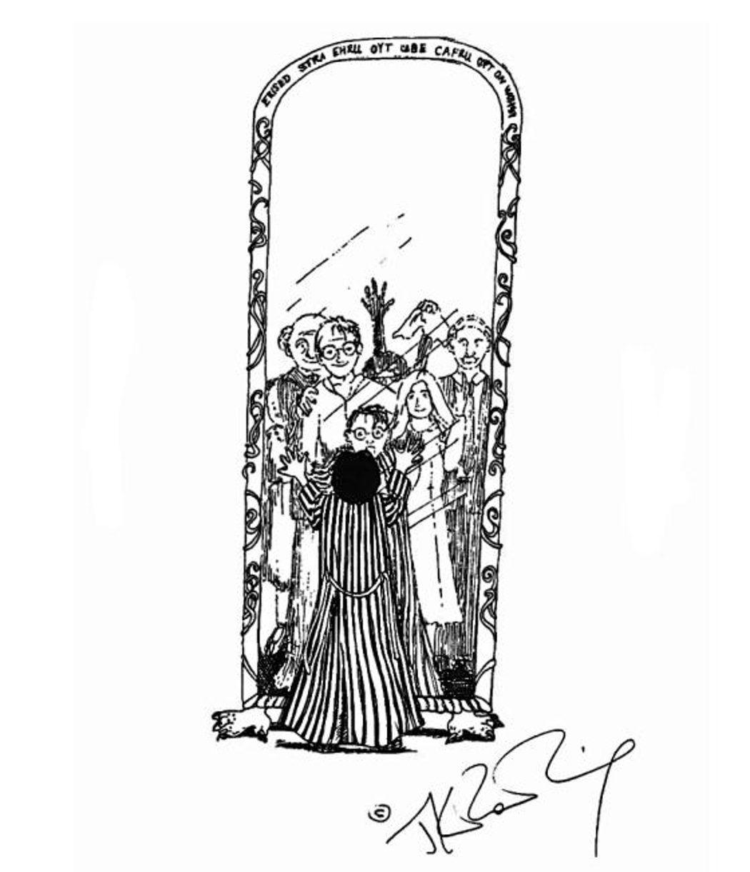 Harry y el Espejo de Oesed