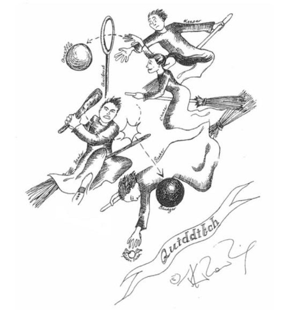 Quidditch, el deporte de los magos