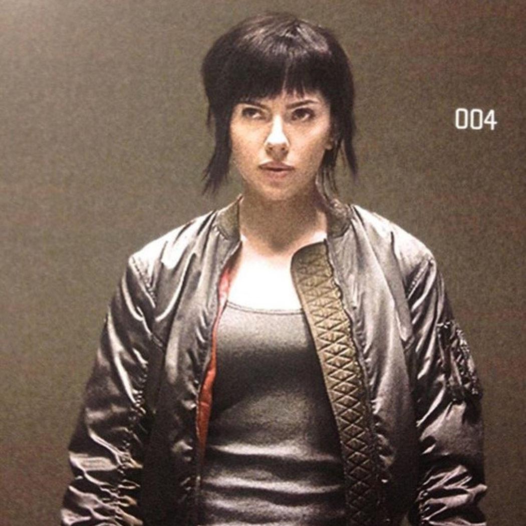 Scarlett Johansson como Motoko Kusanagi