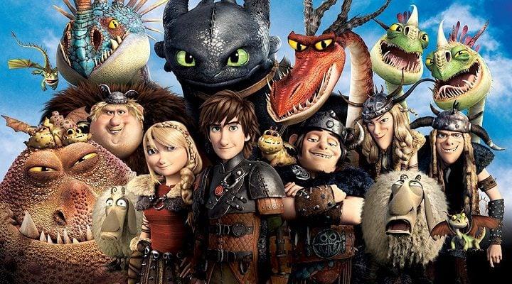Dragones y vikingos
