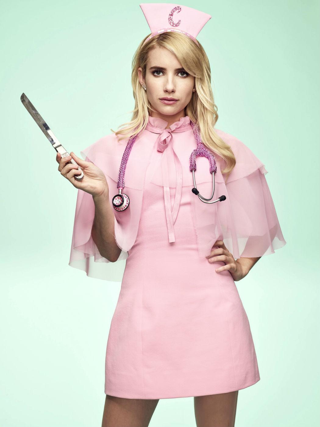 Emma Roberts como Chanel Oberlin