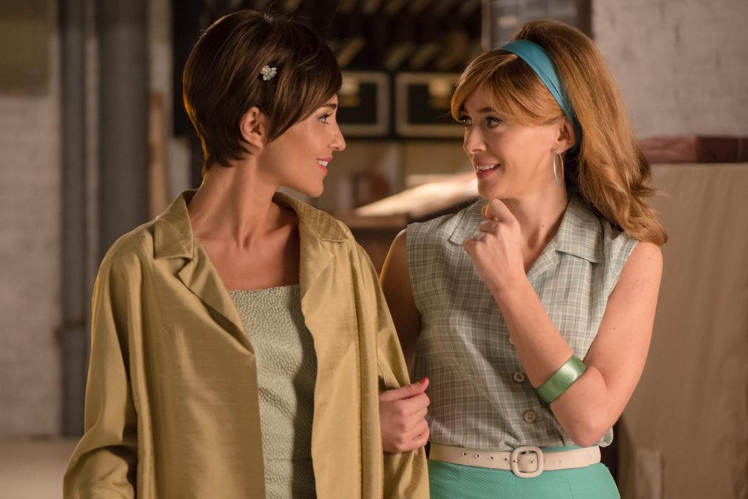 Ana y Clara en 'Velvet'