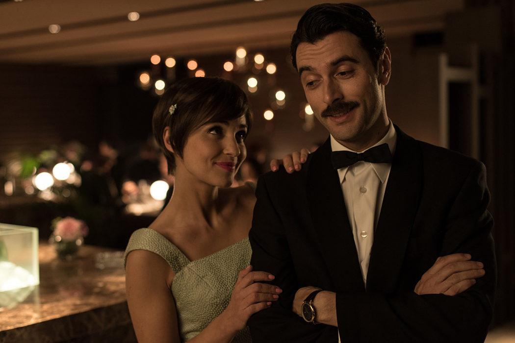 Ana y Mateo sonriendo en la nueva temporada
