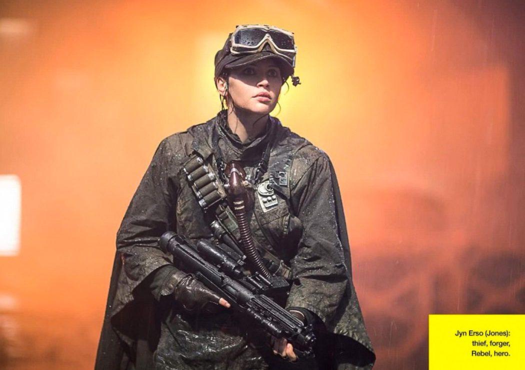 Felicity Jones como Jyn Erso