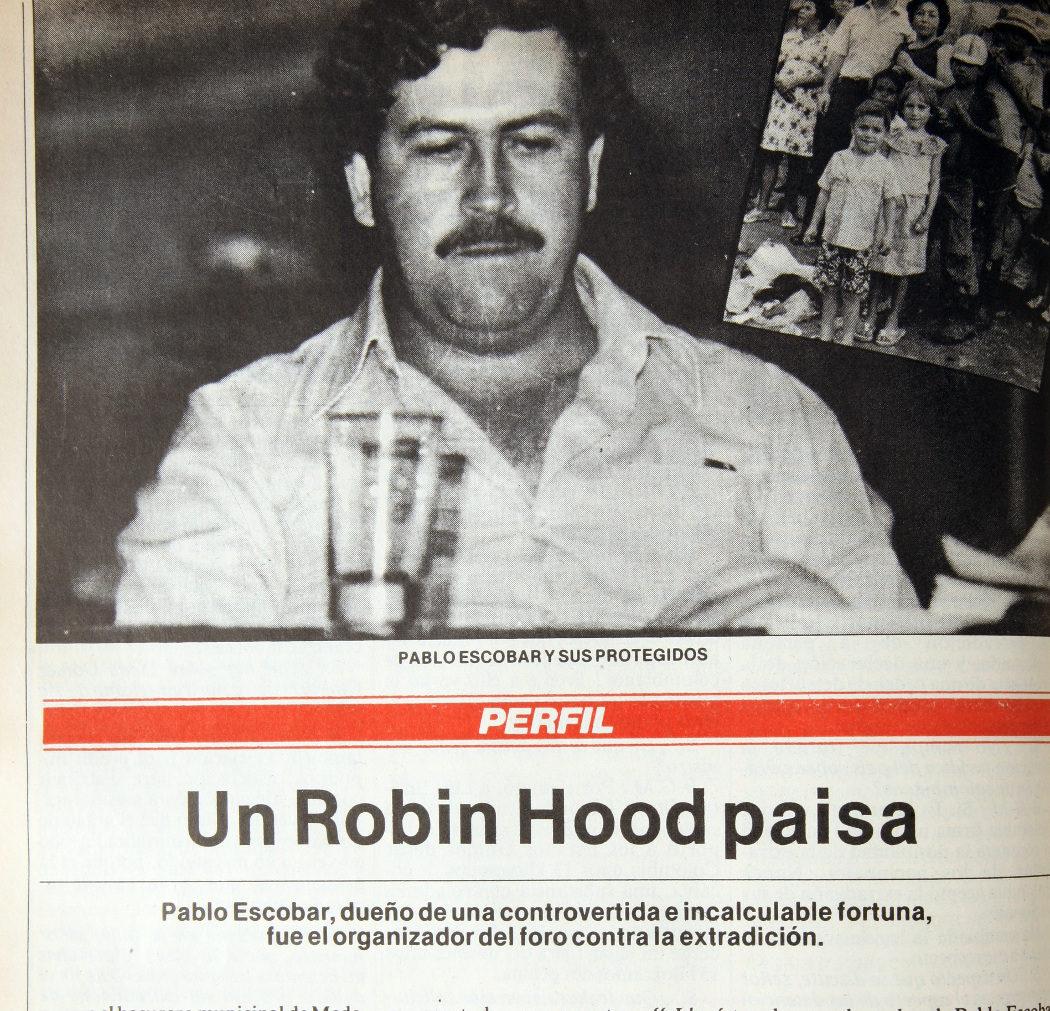 """Sí, era apodado """"El Robin Hood de Medellín"""""""