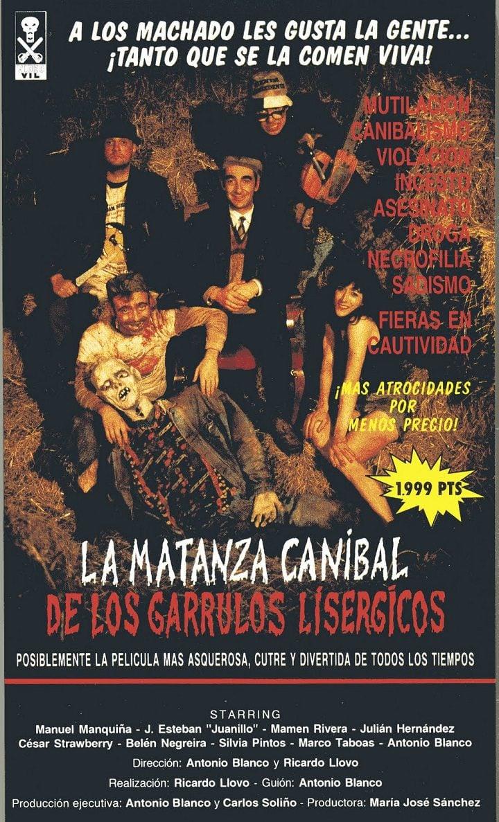 'La matanza caníbal de los garrulos lisérgicos'