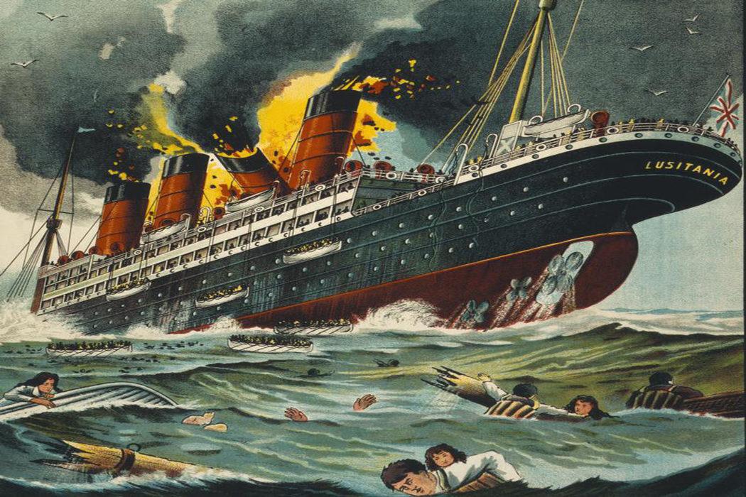 «¡Hundan el Lusitania!»