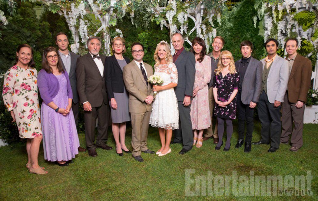 Los invitados de la boda