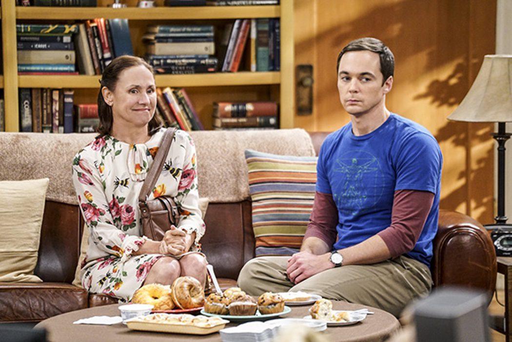 Sheldon y su madre