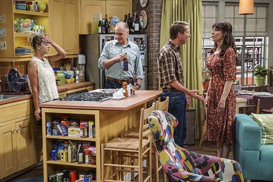 Penny recibe la visita de su familia