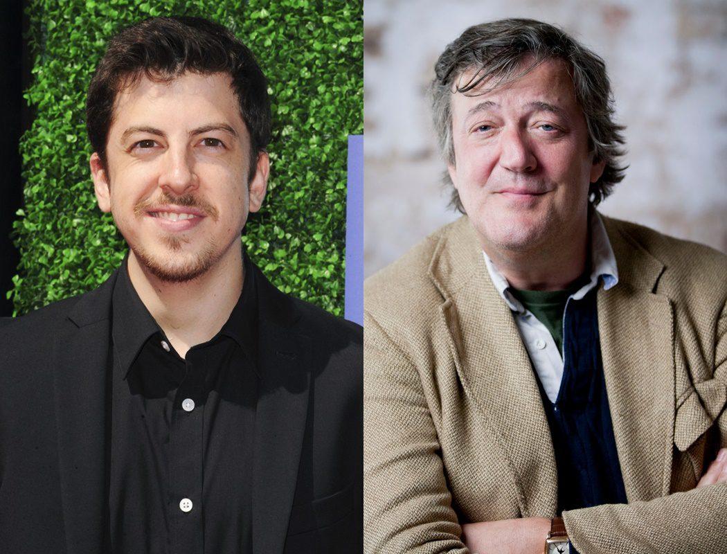 Christopher Mintz-Plasse & Stephen Fry