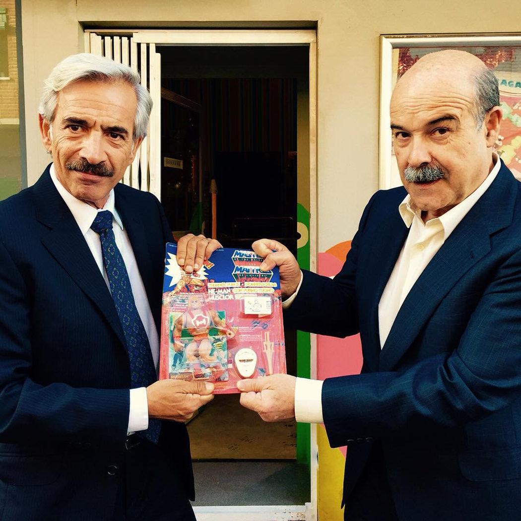 Imanol Arias y Antonio Resines en San Genaro