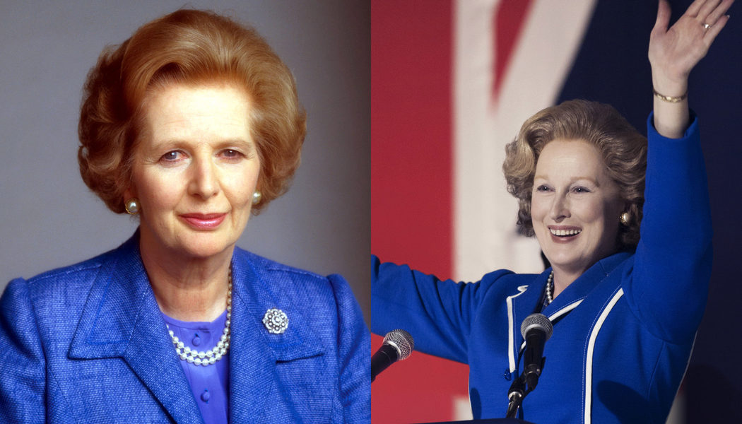Margaret Thatcher en 'La dama de hierro'