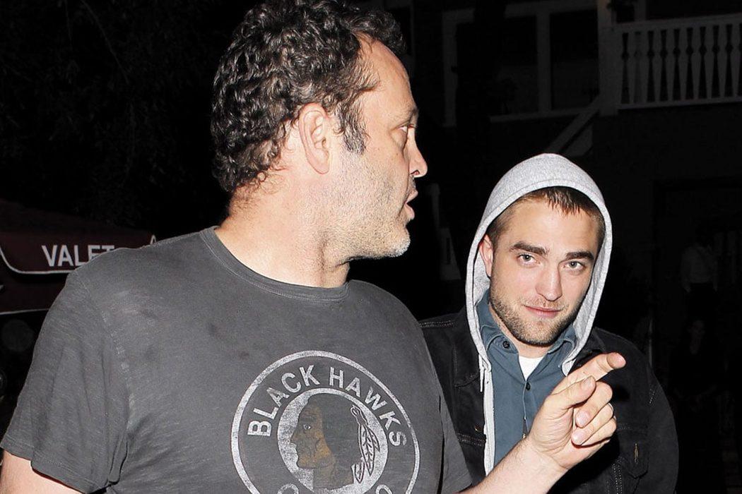Vince Vaughn y Robert Pattinson