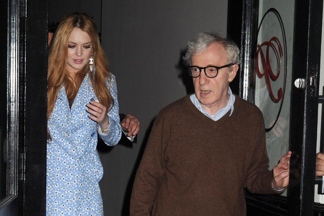 Lindsay Lohan y Woody Allen
