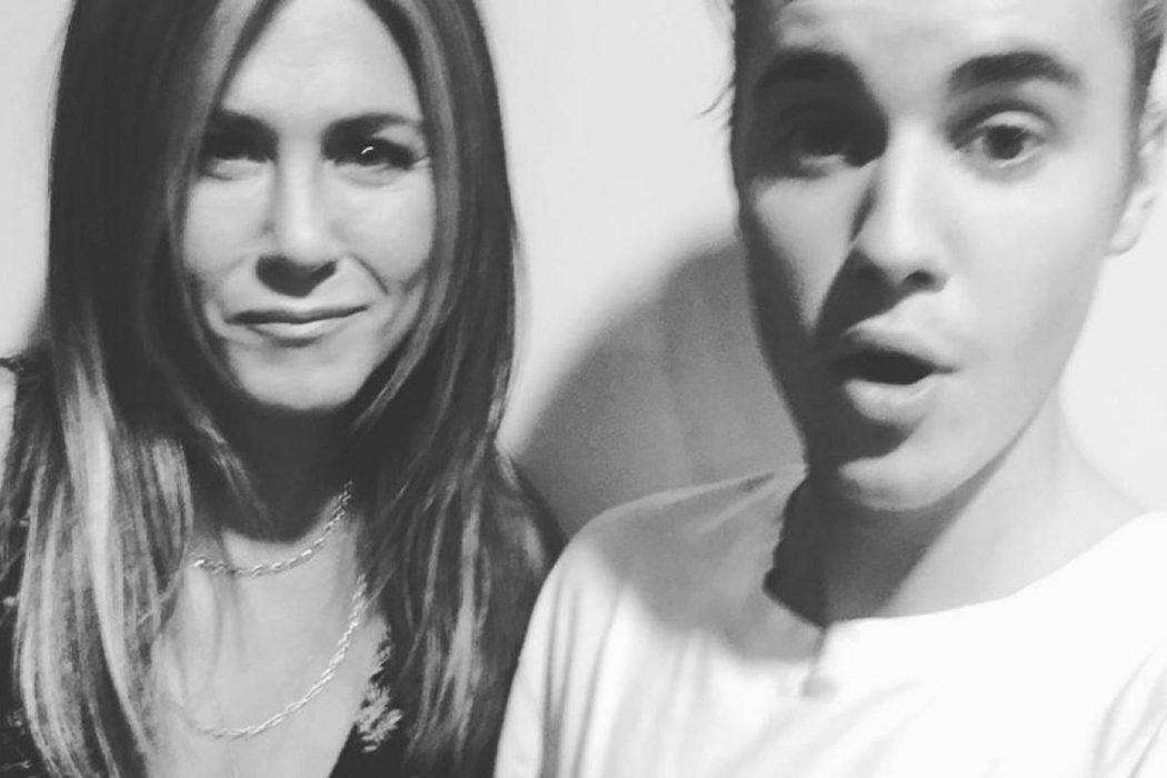 Jennifer Aniston y Justin Bieber