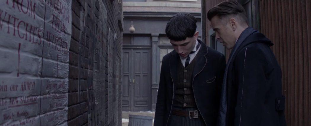 Colin Farrell y Ezra Miller... ¿aliados?