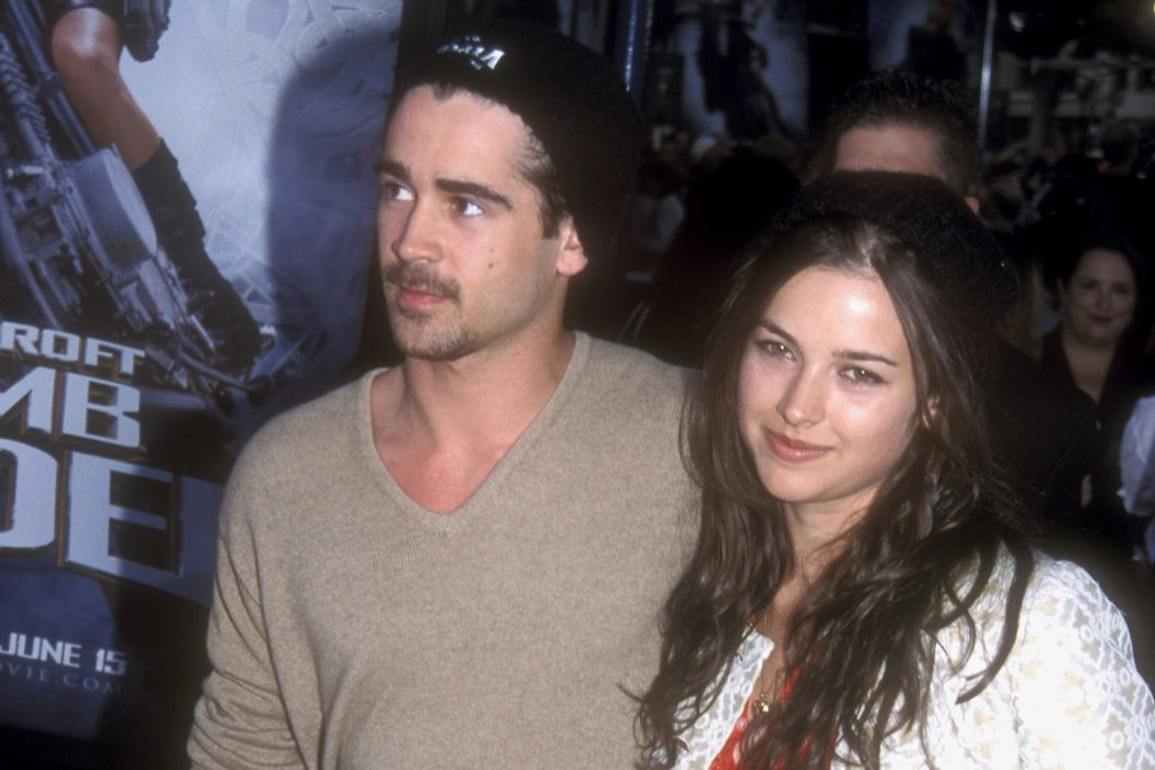 Colin Farrell y Amelia Warner