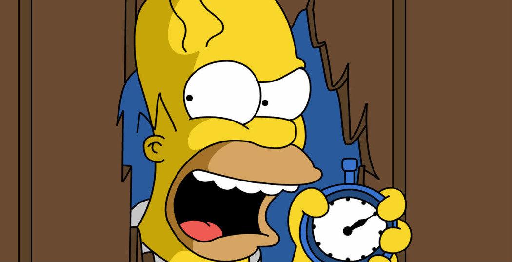 'Los Simpson' y el resplandior