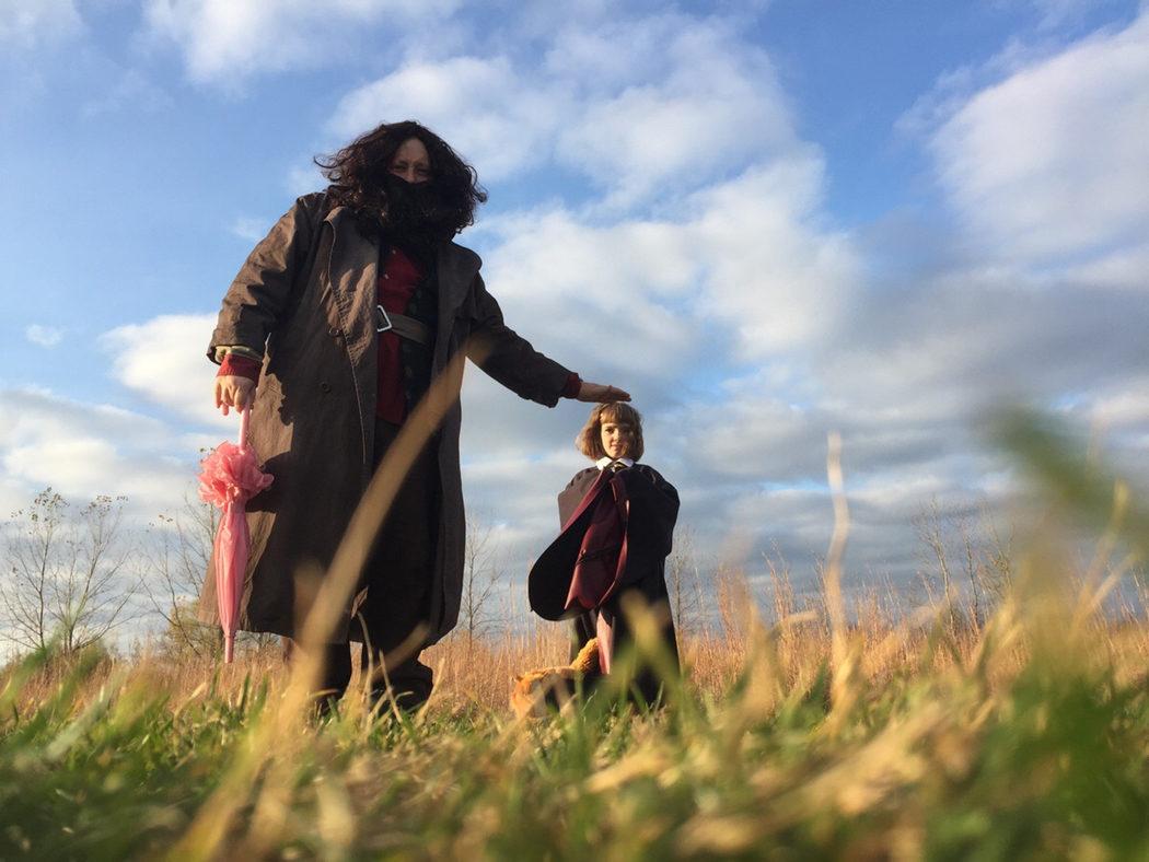 Disfraz Hagrid y Hermione