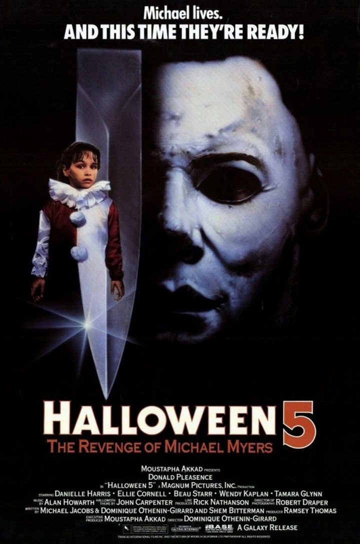 'Halloween 5: La venganza de Michael Myers'
