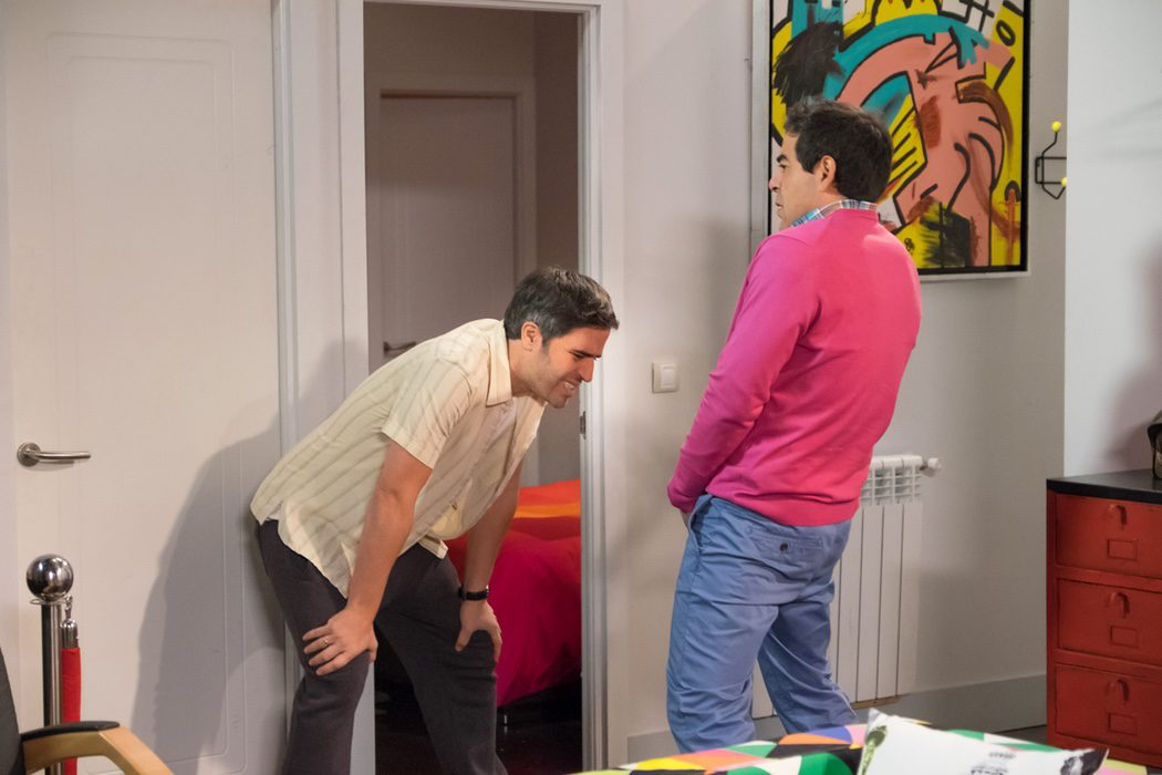 Otra hilarante escena entre los hermanos Rivas