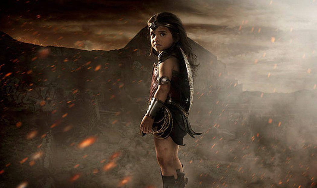 Nellee se convierte en Wonder Woman