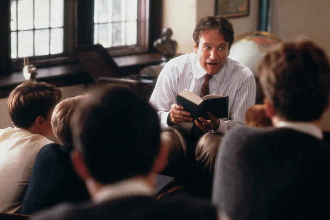 Robin Williams: 'El club de los poetas muertos'