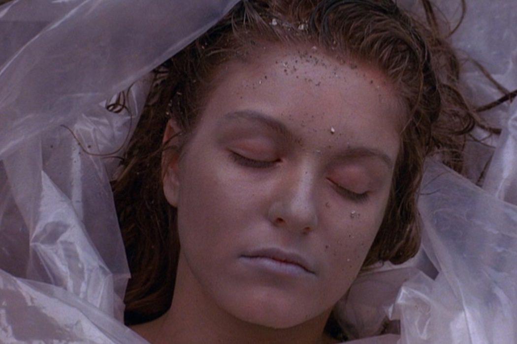 Laura Palmer, envuelta en plástico