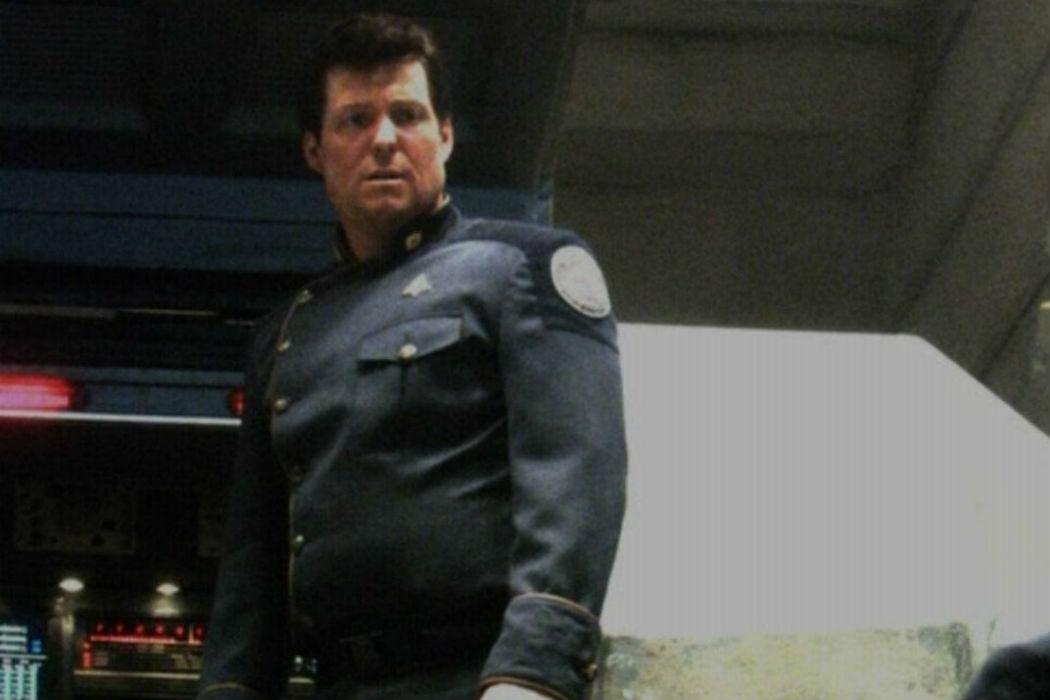 Jamie Bamber en 'Battlestar Galactica'