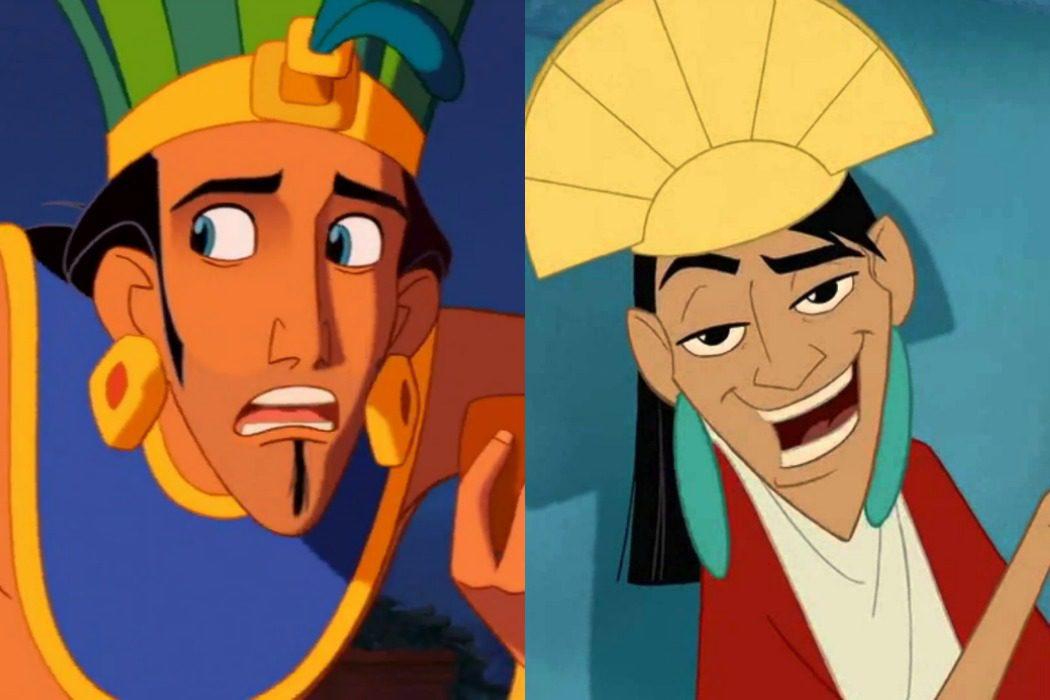 'La ruta hacia El Dorado' vs. 'El emperador y sus locuras' (2000)