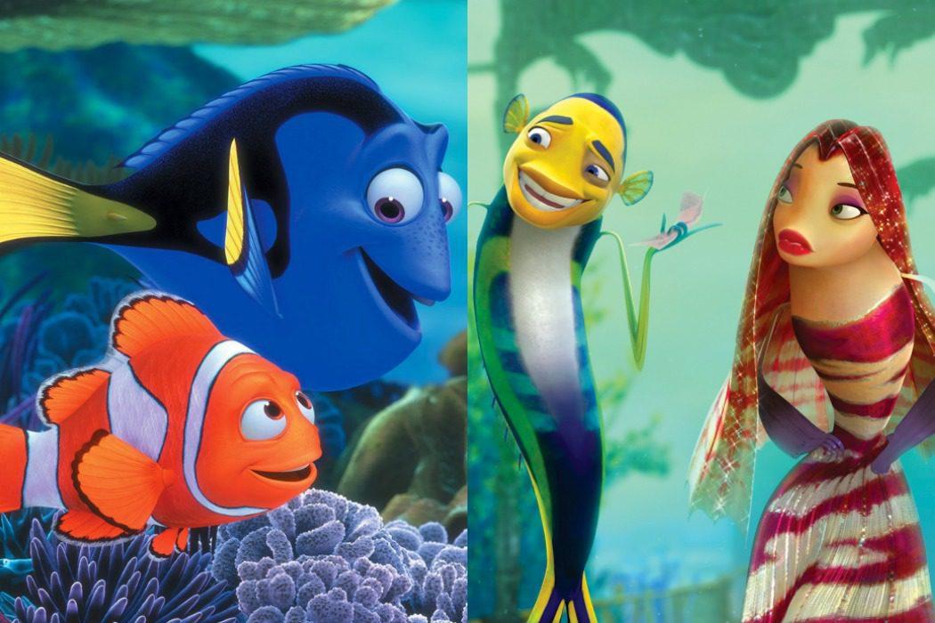 'Buscando a Nemo' vs. 'El espantatiburones' (2003/2004)