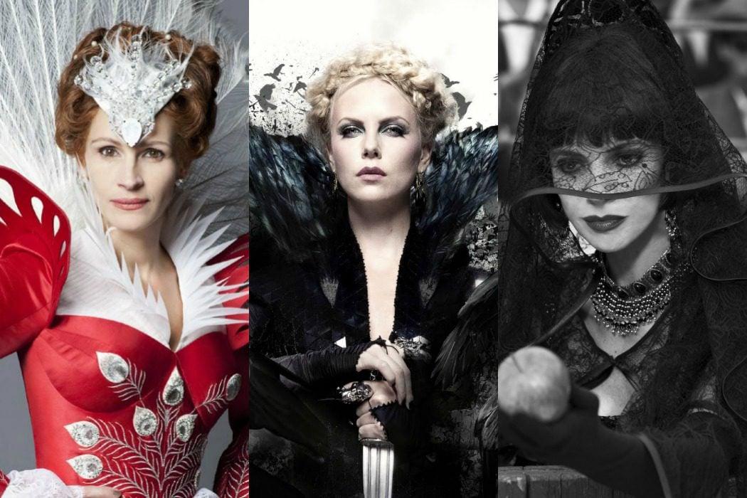 'Blancanieves (Mirror, Mirror)' vs. 'Blancanieves y la leyenda del cazador' vs. 'Blancanieves' (2012)