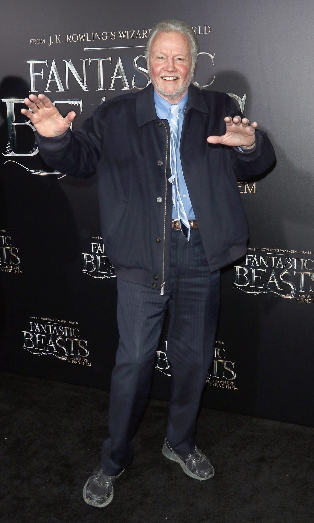 Jon Voight en la premiere de 'Animales fantásticos y dónde encontarlos'