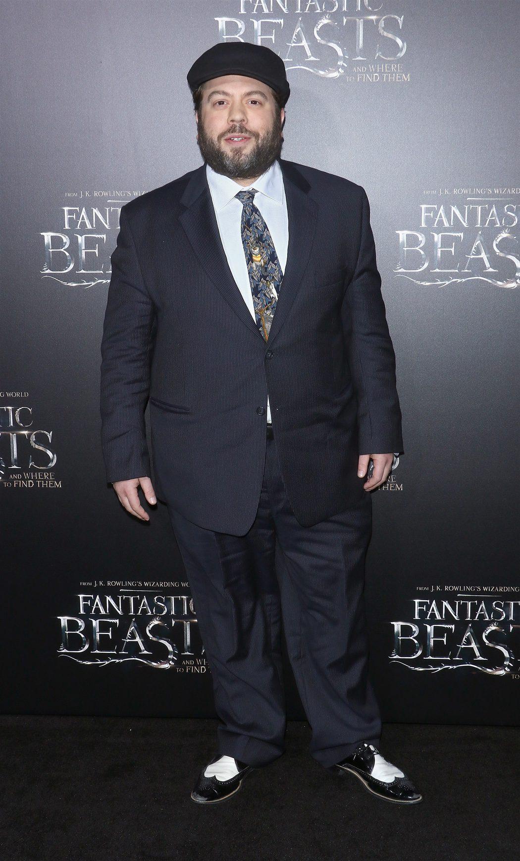 Dan Fogler en la premiere de 'Animales fantásticos y dónde encontrarlos'