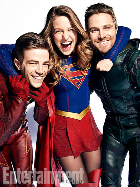 The Flash, Supergirl y Arrow para Entertainment Weekly
