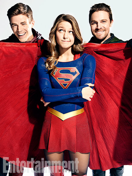 A Arrow y The Flash les gusta la capa de Supergirl