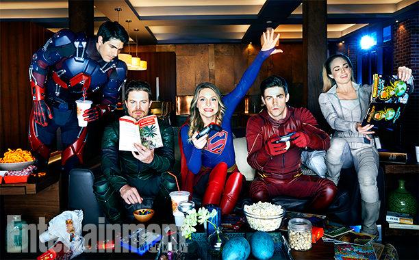 ¡Los superhéroes tienen tiempo para todo!