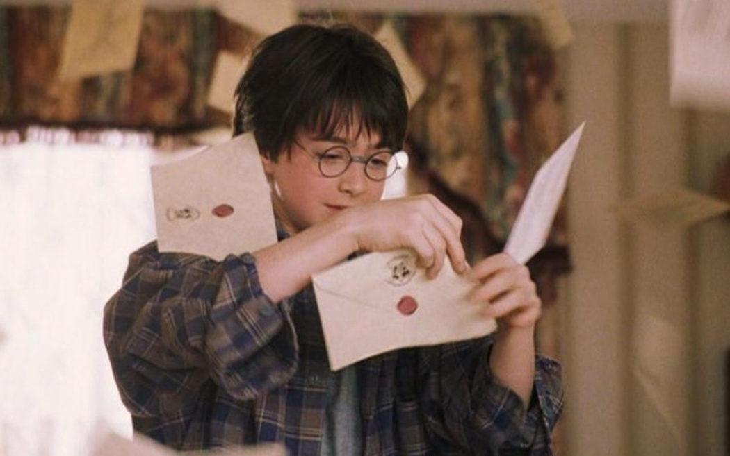 La carta de Hogwarts