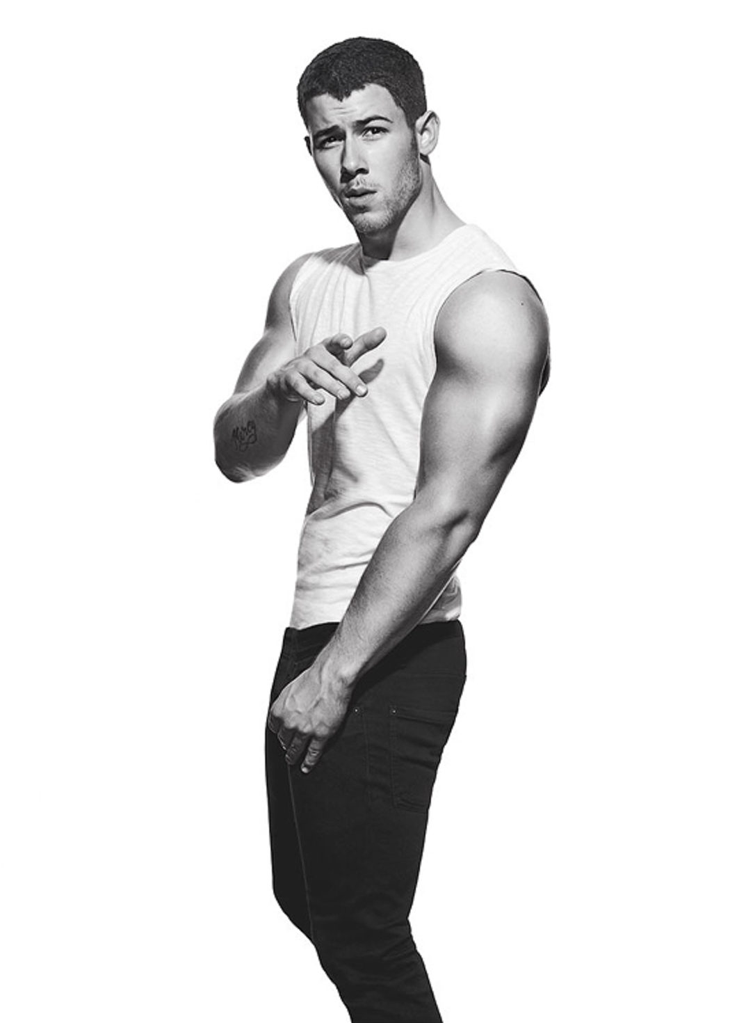 Nick Jonas para Men's Fitness