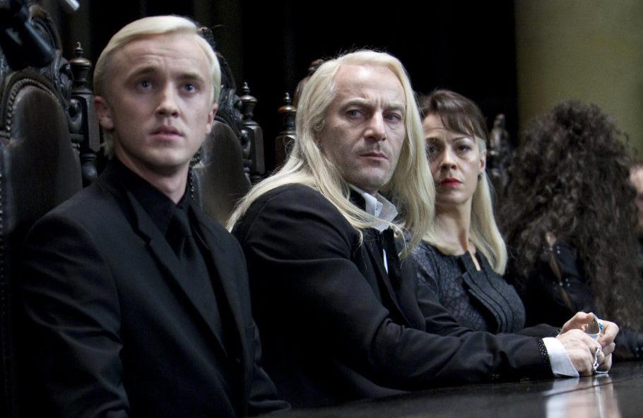 Lucius y Narcisa Malfoy
