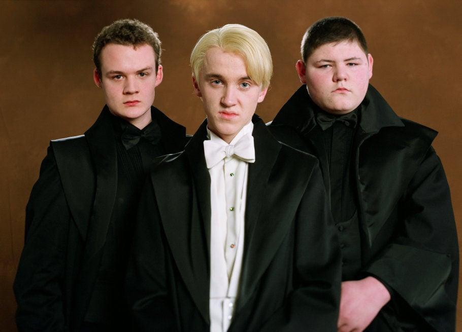 Los secuaces de Malfoy: Vincent Crabbe y Gregory Goyle