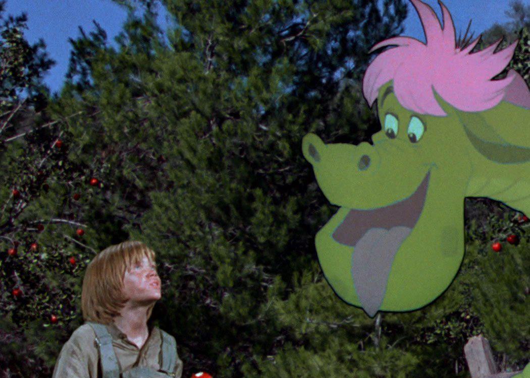 'Pedro y el dragón Elliot'