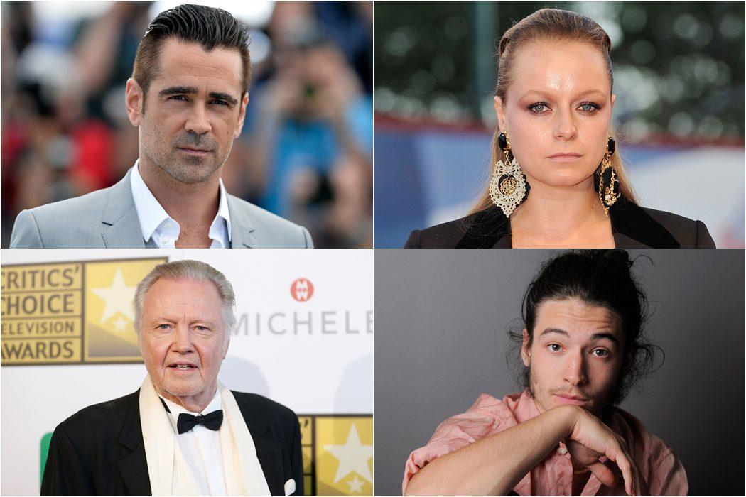 Colin Farrell, Samanthan Morton, Jon Voight y Ezra Miller se suman al reparto